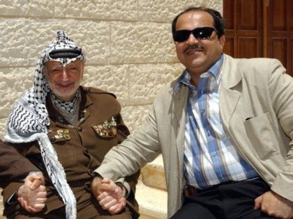 Yasser Arafat and Ahmad Tibi (AFP / Getty)