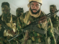 Abubakar Shekau, the leader of one of two Boko Haram factions, from a video published on November 9, 2018