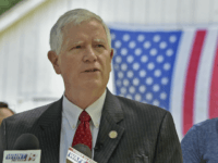 Alabama Rep. Mo Brooks announces his candidacy for the U.S. Senate in Huntsville, Alabama on May 15, 2017.Bob Gathany / AL.com via AP