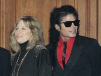 FILE - In this Dec. 14, 1986, file photo, singers Barbra Streisand and Michael Jackson attend the Scopus Awards of the American Friends of the Hebrew University ceremony in Los Angeles. Streisand is apologizing outright for her comments about sexual abuse allegations against Michael Jackson. She said in a second …