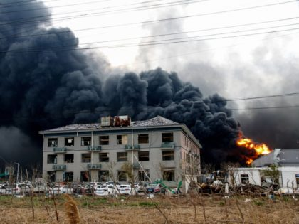 Watch: Chinese Pesticide Plant Explosion Kills 47, President Xi Orders Investigation
