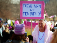TOPSHOT - Demonstrators gather at Civic Center Park in Denver, Colorado, during the Women's March on January 21, 2017. Hundreds of thousands of people packed the streets across the US on Saturday in a massive outpouring of defiant opposition to America's new president, Donald Trump. / AFP / Jason Connolly …