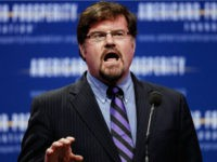 National Review Online Contributing Editor Jonah Goldberg addresses the Defending the American Dream Summit at the Washington Convention Center November 4, 2011 in Washington, DC. Goldberg called the Occupy Wall Street demonstrators unemployed drug addicts and rapists during the conservative political summit which is organized by Americans for Prosperity. (Photo …