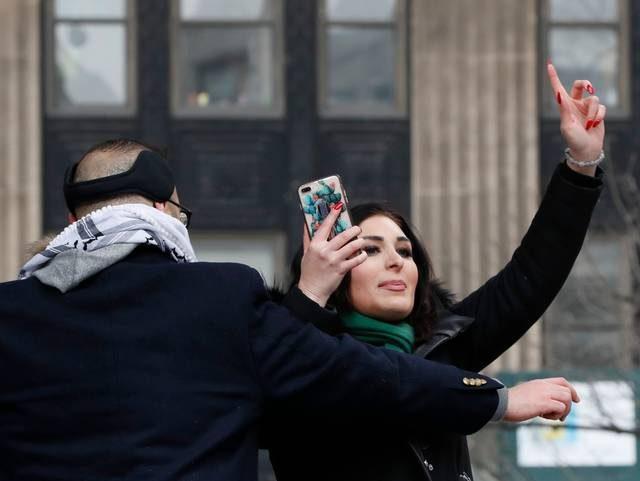 Laura Loomer Womens March New York