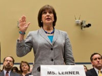 Former IRS Commissioner Douglas Shulman, left, and Lois Lerner, right, head of the IRS unit that decides whether to grant tax-exempt status to groups, are sworn in on Capitol Hill in Washington, Wednesday, May 22, 2013, prior to testifying before the House Oversight and Government Reform Committee hearing to investigate …