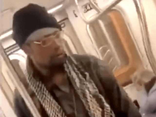 Subway riders do nothing as man repeatedly kicks elderly woman in face
