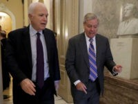 Lindsey Graham Told John McCain to Turn Over Steele Dossier
