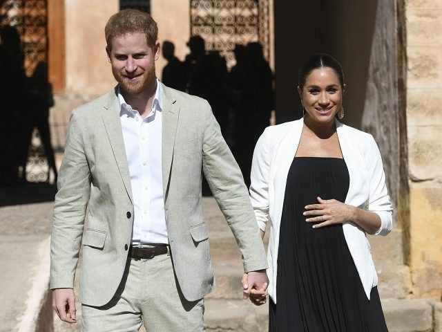 Britain's Prince Harry and Meghan, Duchess of Sussex visit the Andalusian Gardens in Rabat, Morocco, Monday, Feb. 25, 2019. The Duke and Duchess of Sussex are on a three day visit to the country. (Facundo Arrizabalaga/Pool Photo via AP)