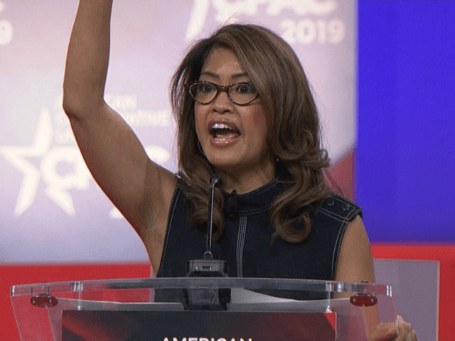 "Conservative pundit Michelle Malkin, a speaker at the 2019 Conservative Political Action Conference, slammed both parties for not pushing for stricter immigration legislation, specifically ""the ghost of John McCain."""
