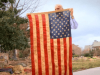 Vietnam vet Richard Oulton was forbidden from flying the American flag from a pole on his own property. (Photo: screen capture)