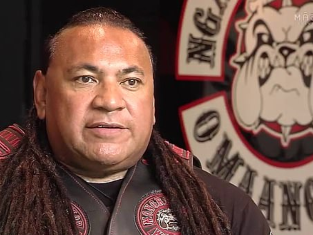Sonny Fatu (pictured) said that his gang owns many guns but they won't hand them in because their lifestyle requires protection and they don't believe they are a risk to the public, unlike the Christchurch shooter