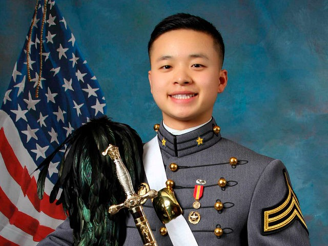 In this undated photo provided by the United States Military Academy at West Point, N.Y., USMA cadet Peter L. Zhu is shown. West Point officials say Zhu died Thursday, Feb. 28, 2019 of injuries he sustained while skiing on Feb. 23 at Victor Constant Ski Area on the academy grounds. …