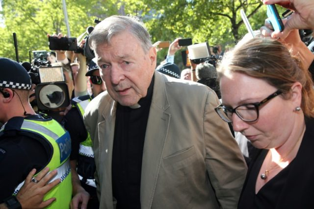 Convicted Australian cardinal to be sued over alleged abuse: reports