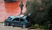 Car ramming wounds 2 Israelis, Palestinian attackers killed: police