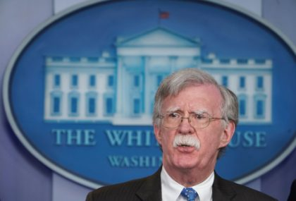 National Security Advisor John Bolton says he is optimistic Britain and France will participate in a residual force in Syria