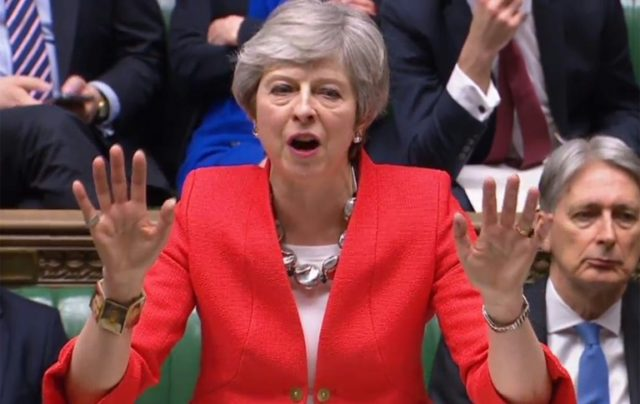 Theresa May's Brexit deal was defeated in a historic vote in parliament
