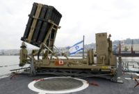 """Contrary to a report by the foreign ministry, an army statement said that """"no interceptions were made"""" by its Iron Dome missile defence system"""