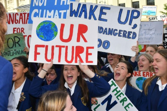 'No Planet B': Thousands join global youth demo for climate