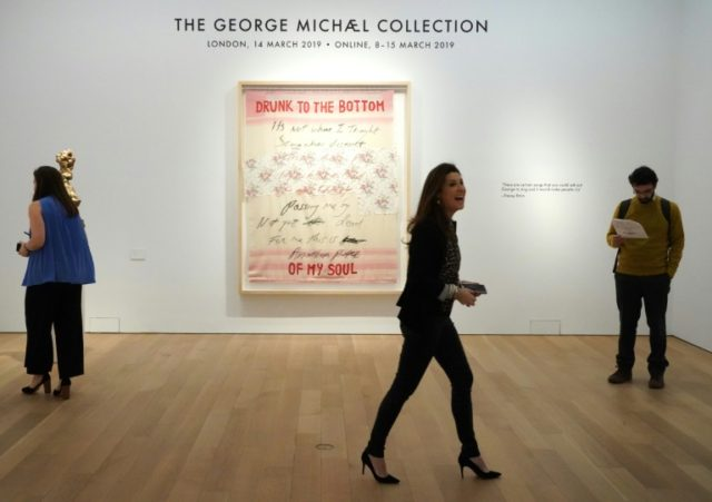 George Michael's artworks sold for £9.2 mn