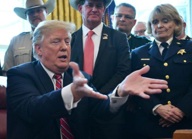 Trump slammed for 'silence' on white supremacist threat