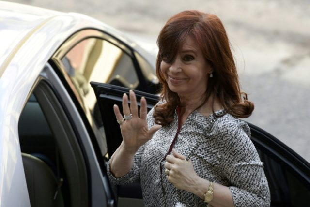 Argentina's Kirchner charged in new corruption case