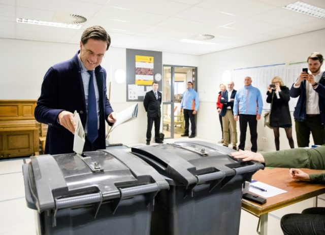 New Dutch populists surge in 'Rutte referendum'