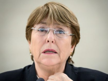 United Nations High Commissioner for Human Rights Michelle Bachelet: t sanctions have 'exacerbated' the crisis