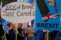 Four in 10 Britons worried, angry about Brexit: survey