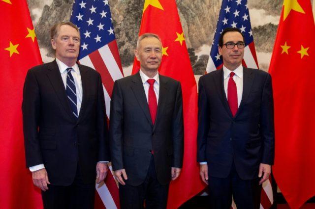 US, Chinese negotiators resume 'productive' trade talks