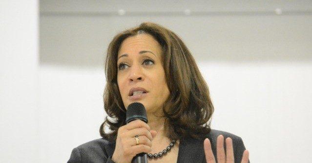 photo image Kamala Harris: 'Give Teachers a Raise, Not Guns'