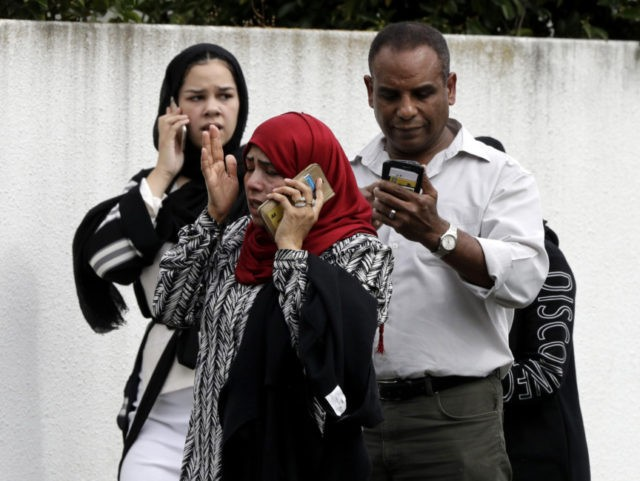 Mosque shootings kill 49; white racist claims responsibility