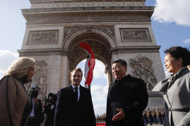 Macron, Xi call for greater EU-China cooperation
