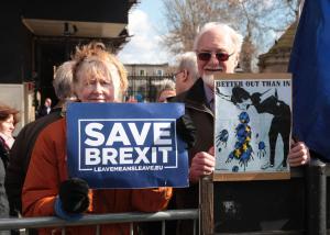British House speaker blocks third vote on Brexit deal