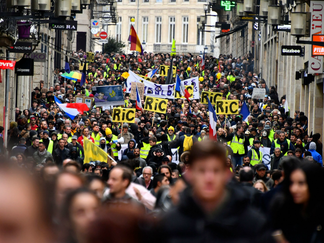 France: Yellow Vests March Against Macron for 17th Weekend Straight