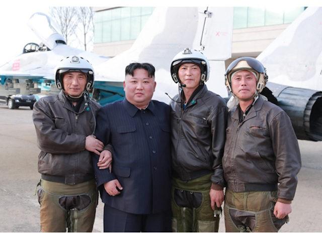 North Korea: Kim Jong-un visits troops April 17, 2019