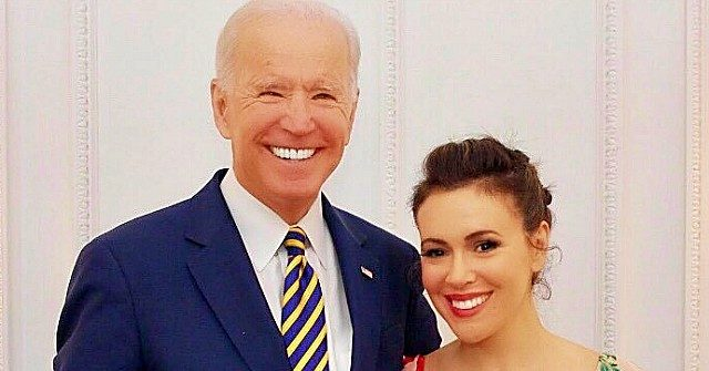 Breitbart Nolte: Alyssa Milano Still 'Admires' Biden after Credible Sex Assault Allegation thumbnail