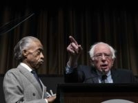 Al Sharpton and Bernie Sanders (Drew Angerer / Getty)