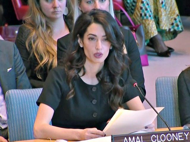 Amal Clooney UN Security Council