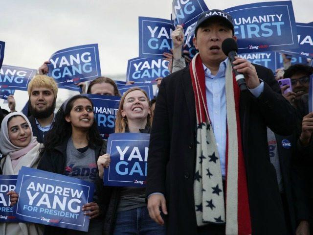 Andrew Yang Getty