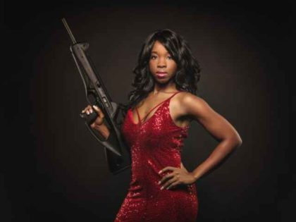 2nd Amendment activist Antonia Okafor
