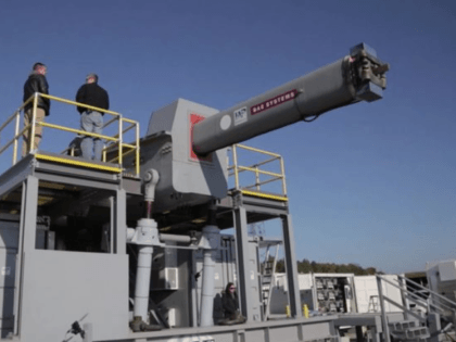 he US military are in the process of testing a new electromagnetic gun that can fire ammo at 4,500mph.