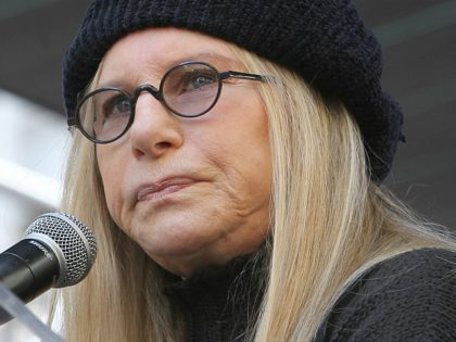 ALos Angeles CA - JANUARY 21: Barbra Streisand, At Women's March Los Angeles, At Downtown Los Angeles In California on January 21, 2017. Credit: Faye Sadou/MediaPunch/IPX