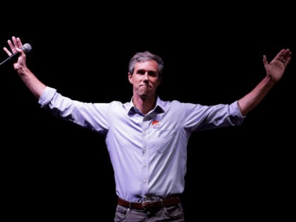 Nolte: Beto O'Rourke Says His Campaign Sacrifices Make Up for Miserly Charitable Donations