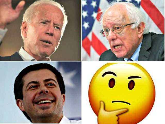 Biden, Sanders, Undecided, Buttigieg