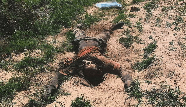 Brooks County Sheriff's Office deputies recovered the body, believed to be that of Rudy Donaldo Martinez Arias of Honduras. (Photo: Brooks County Sheriff's Office/Deputy Bianca Mora)