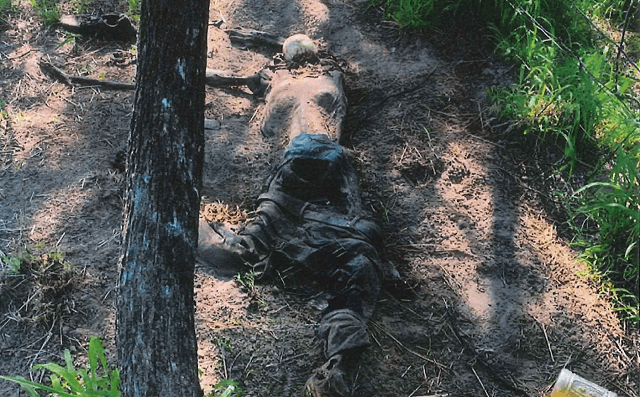 Brooks County Sheriff's Office deputies recover the remains of an unidentified migrants found on April 10, 2019. ((Photo: Brooks County Sheriff's Office/Deputy Bianca Mora)