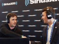 Alex Marlow, editor in chief of Breitbart News, and Charlie Kirk, President of TPUSA