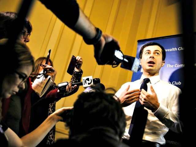 Buttigieg on campaign trail