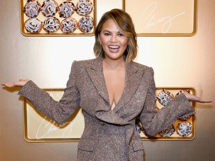 LOS ANGELES, CA - OCTOBER 20: Chrissy Teigen attends SEPHORiA: House of Beauty – Session One at The Majestic Downtown on October 20, 2018 in Los Angeles, California. (Photo by Presley Ann/Getty Images for Sephora)
