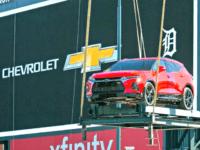Chevy Blazer, Comerica ParkJohn F. Martin, Chevrolet